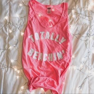 💕Victoria's Secret PINK Totally Beachin Tank Top